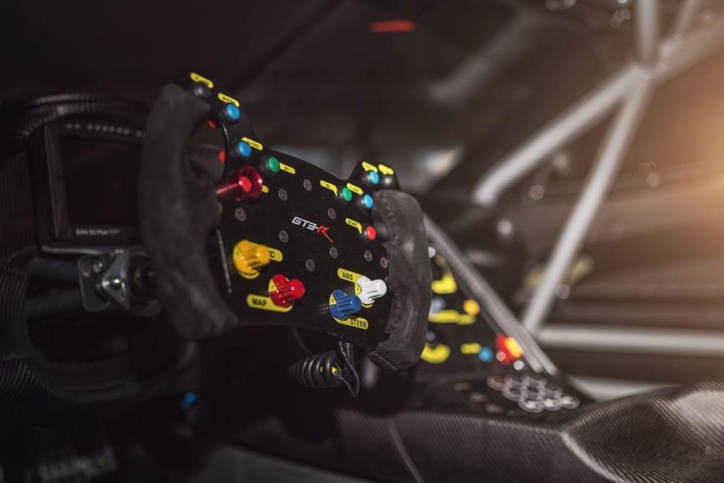 Callaway Corvette C7 GT3-R Steering Wheel
