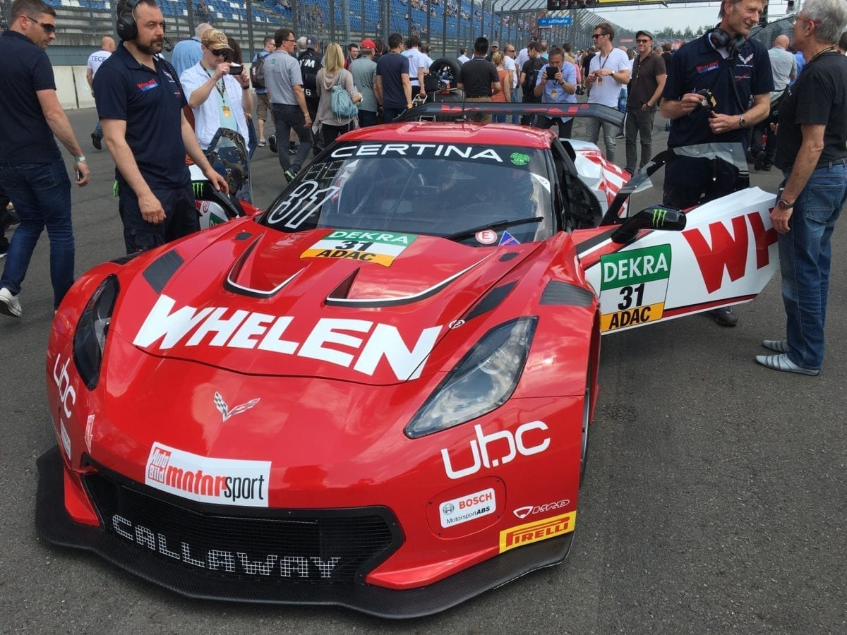 Whelen Corvette C7 GT3-R at ADAC GT Masters