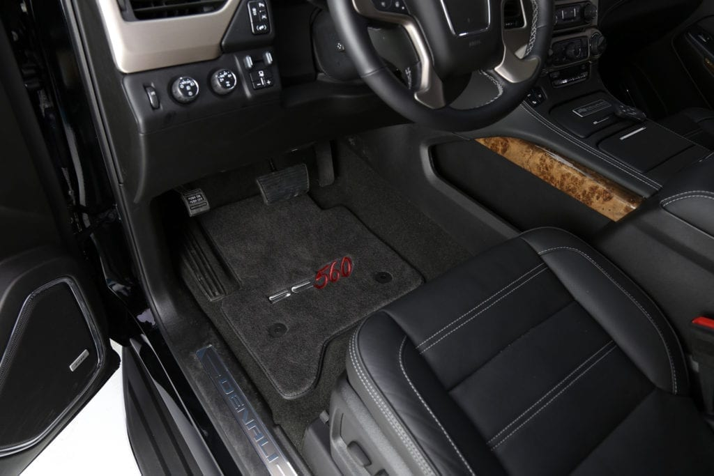 Callaway Yukon XL SC560 Interior
