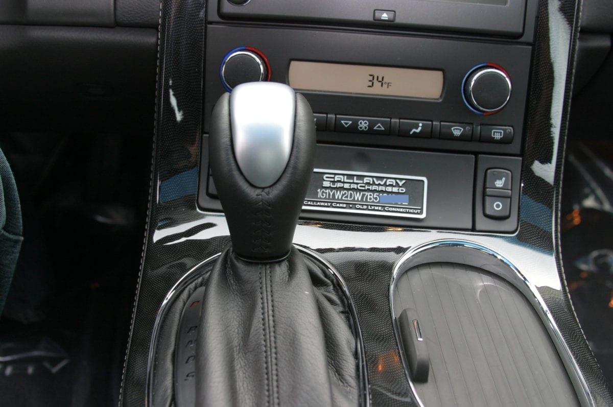 Callaway Corvette SC606 Console