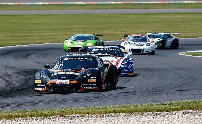 Callaway Corvettes at ADAC GT Masters - Lausitzring, P1 & P2