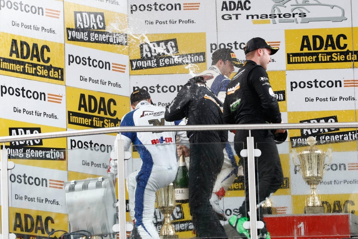 ADAC GT Masters - Lausitzring Podium