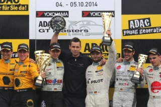 Keilwitz and Wirth, ADAC GT Masters - Hockenheim Podium 2014