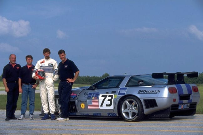 Boris Said drives C4 Callaway Corvette