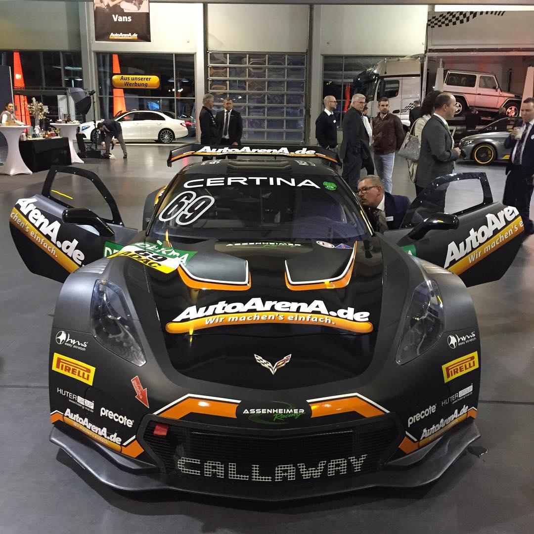 AutoArenA.de Callaway Corvette C7 GT3-R
