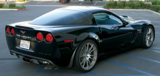 Callaway Corvette Development Car