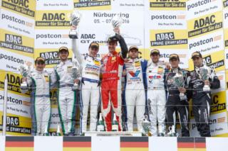 ADAC GT Masters Podium - Nürburgring 2016
