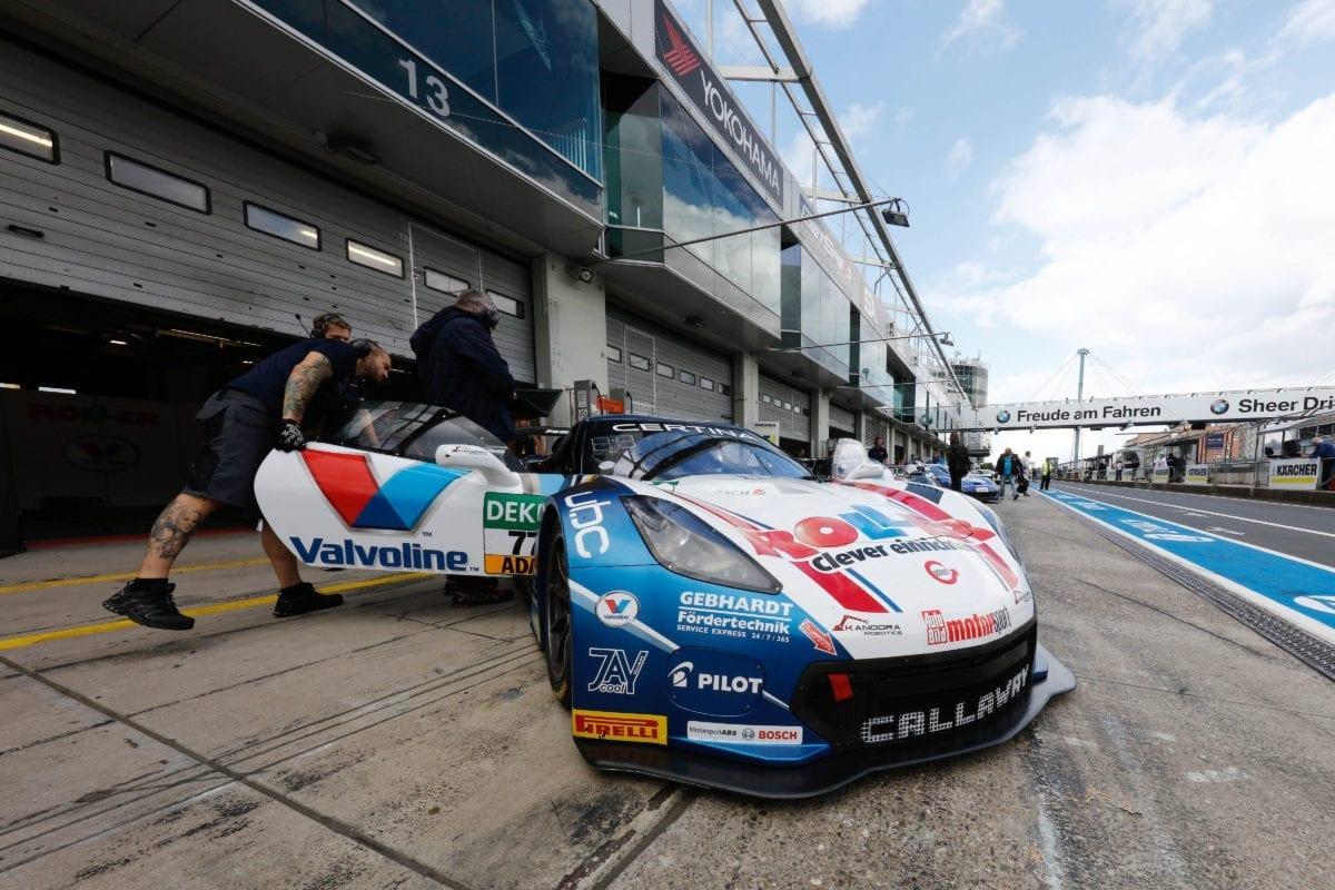 ROLLER-Valvoline/Callaway Corvette C7 GT3-R at ADAC GT Masters, Nürburgring - 2016