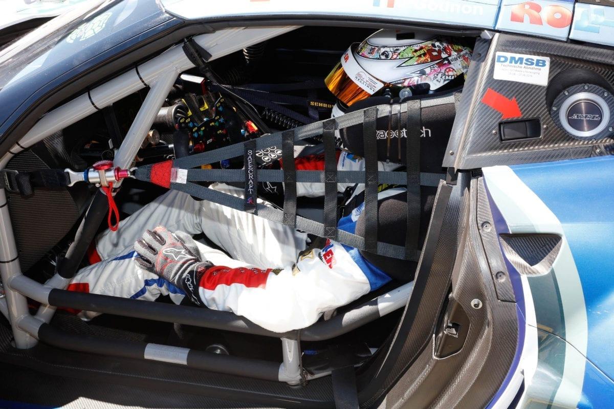 Callaway Driver Daniel Keilwitz at ADAC GT Masters, Nürburgring - 2016