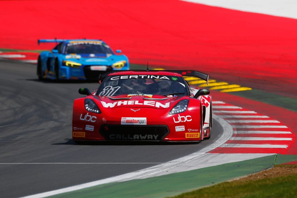 Whelen Callaway Corvette C7 GT3-R at Red Bull Ring - 2016