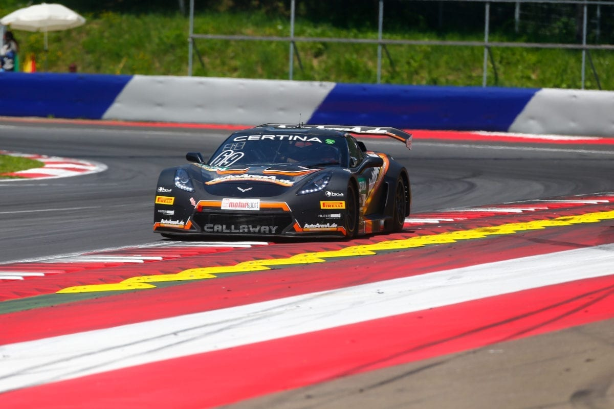 AutoArenA.de/Callaway Corvette C7 GT3-R at Red Bull Ring - 2016