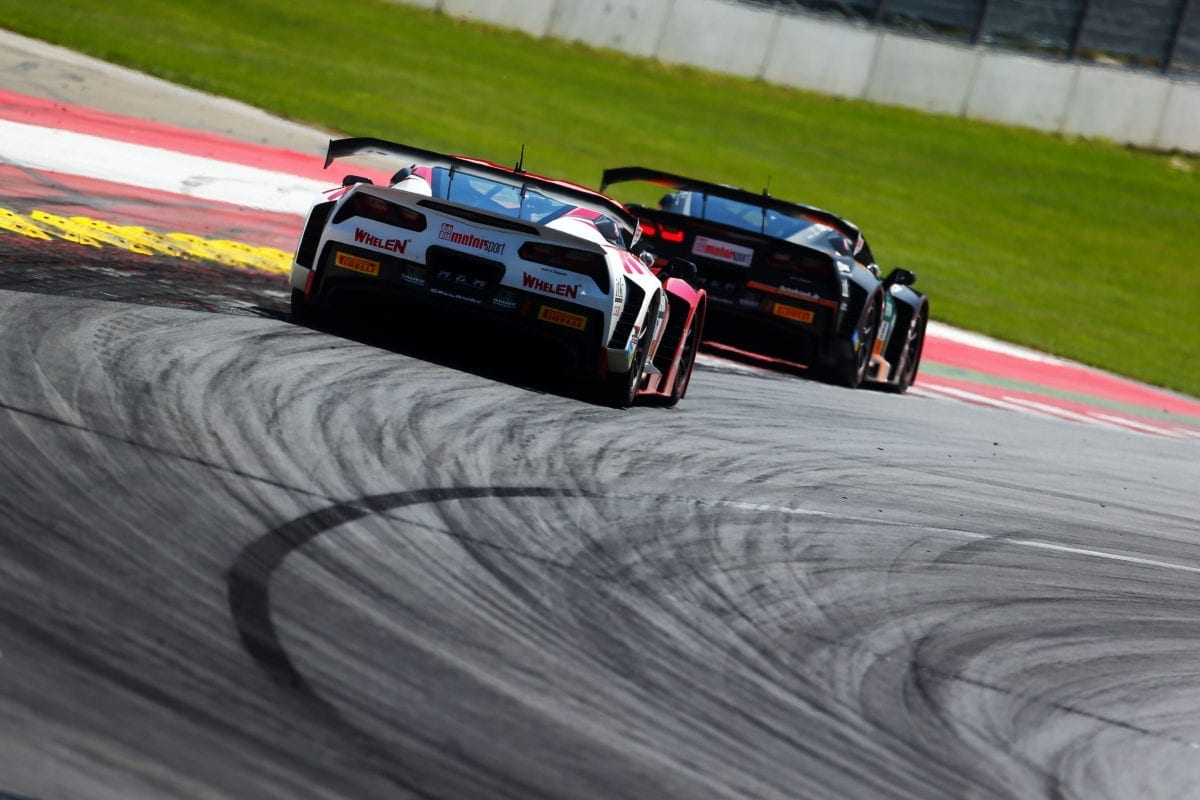 Callaway Corvette C7 GT3-R's at Red Bull Ring - 2016