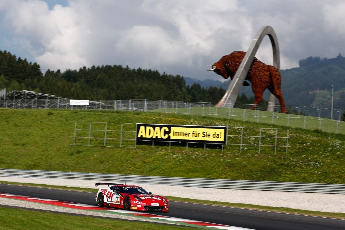 Whelen/Callaway Corvette C7 GT3-R at Red Bull Ring - 2016