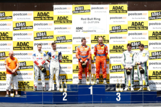 Callaway Drivers on the Red Bull Ring Podium - 2016