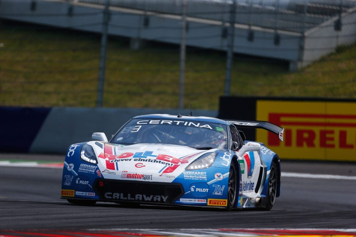 ROLLER-Valvoline/Callaway Corvette C7 GT3 at Red Bull Ring - 2016