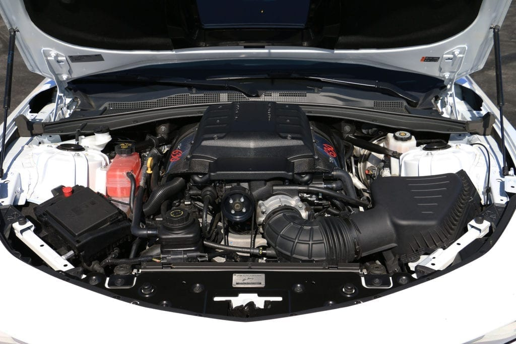 Callaway Camaro SC630 Underhood