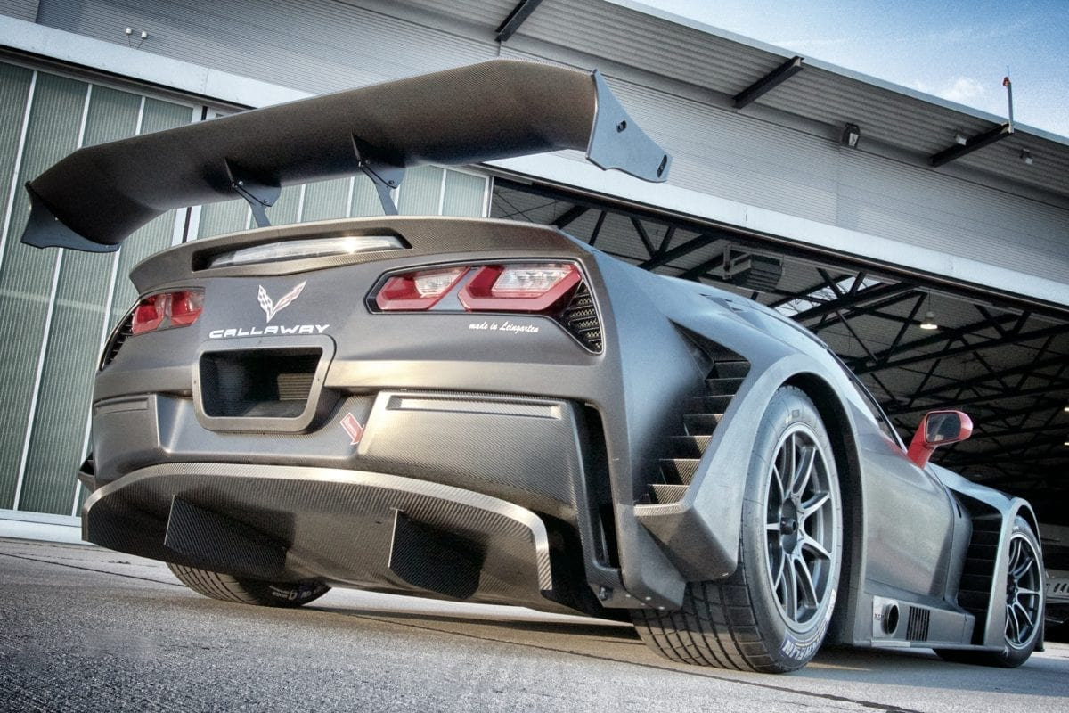 Callaway Corvette C7 GT3-R Debut Photo Shoot