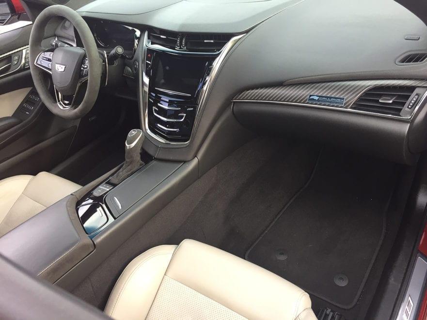 Callaway CTS-V SC740 Interior