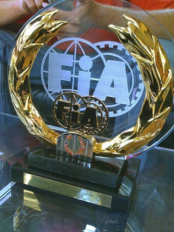 FIA GT3 Championship Trophy - 2007