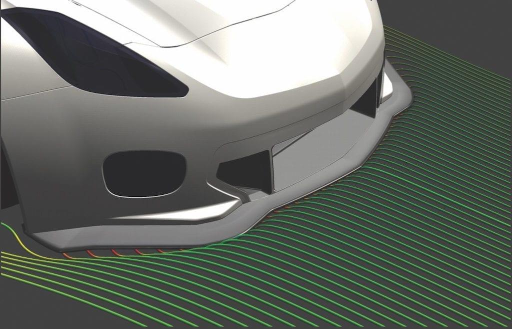 Callaway Corvette C7 GT3-R Splitter