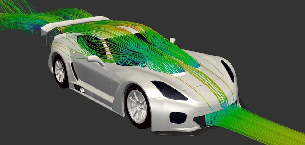 Callaway Corvette C7 GT3-R Grille Intake