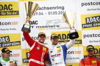 Gounon and Keilwitz, ADAC GT Masters - Sachsenring Podium 2016