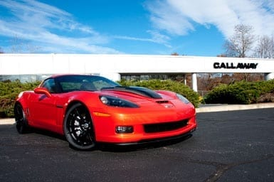 Callaway Corvette Photo Shoot