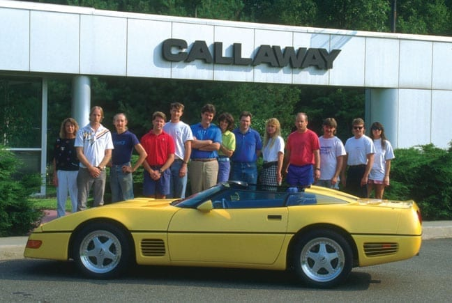Callaway C4 - Germany-bound Speedster