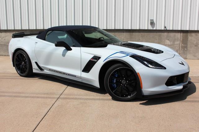 Callaway Corvette SC757 #0521 - front 3/4 - top up
