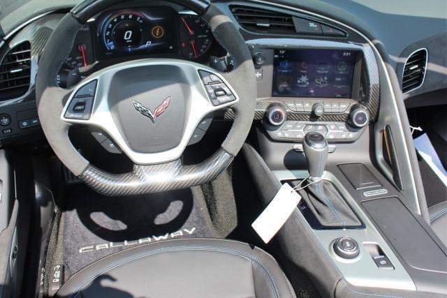 Callaway Corvette SC757 #0521 - interior