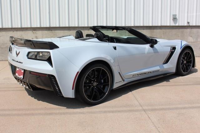 Callaway Corvette SC757 #0521 - rear 3/4 view