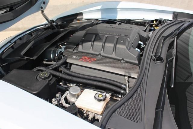Callaway Corvette SC757 #0521 - underhood