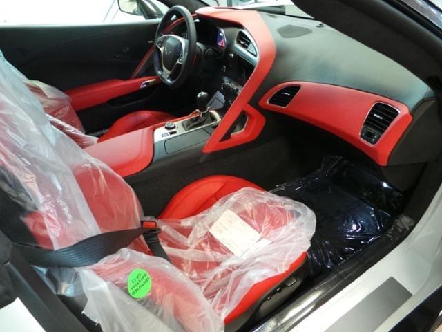 Callaway Corvette SC757 #1805 - interior