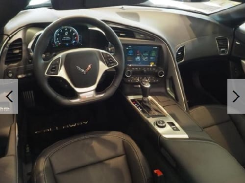Callaway Corvette SC757 #1369 - interior