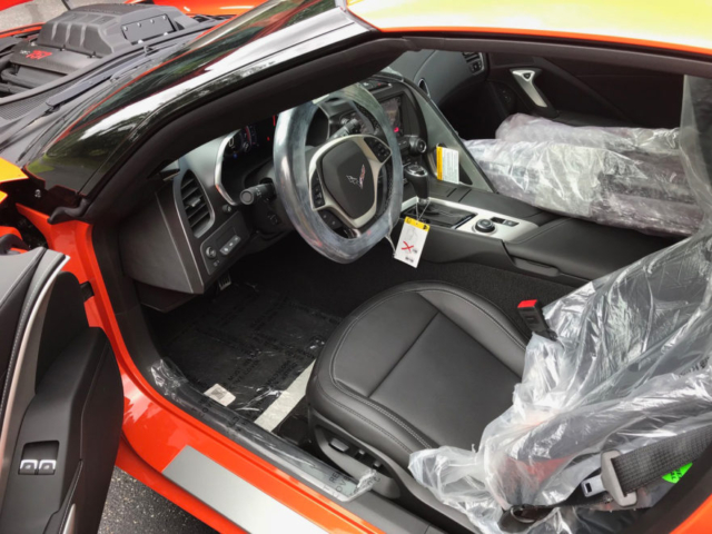 Callaway Corvette SC757 #2381 - interior