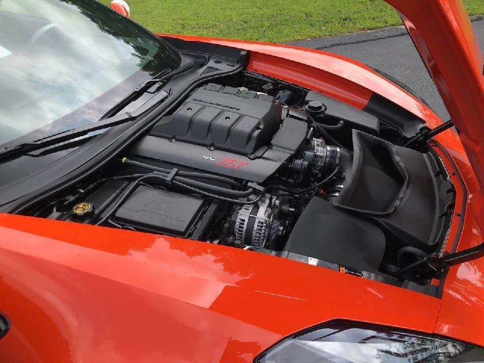 Callaway Corvette SC757 #2381 - underhood