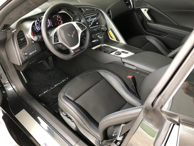 Callaway Corvette SC757 #1929 - interior