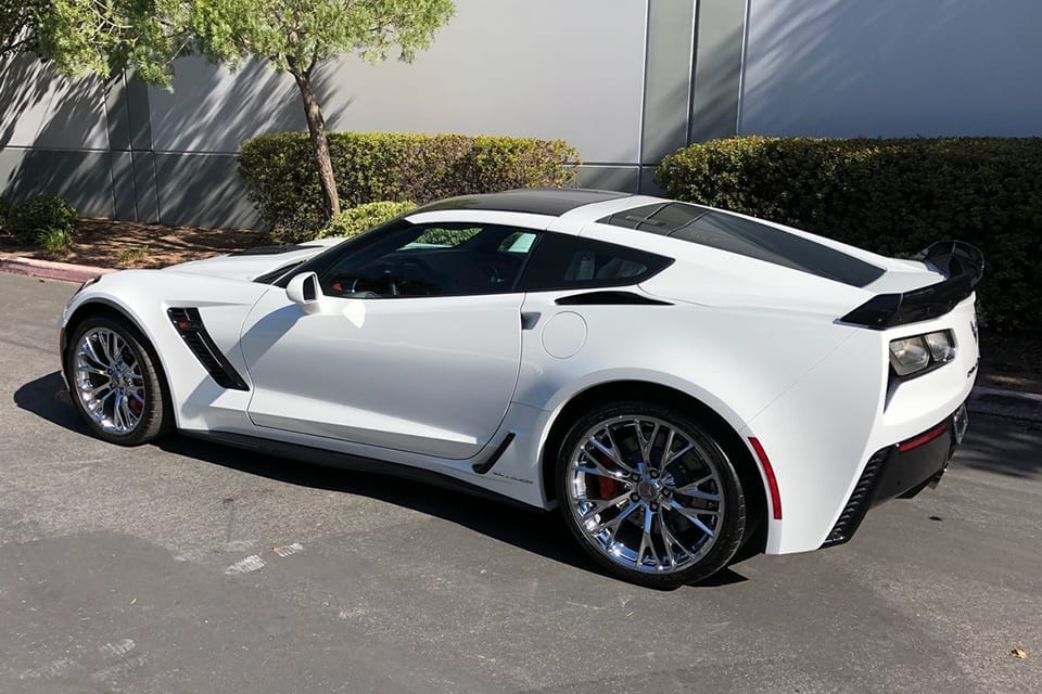2019 Callaway Corvette SC757 - side view