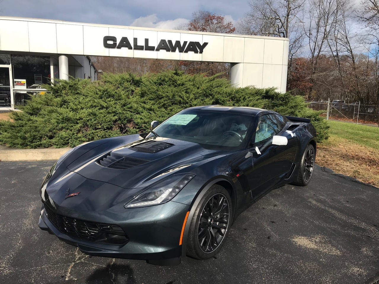 2019 Callaway Corvette Z06 SC757 - front