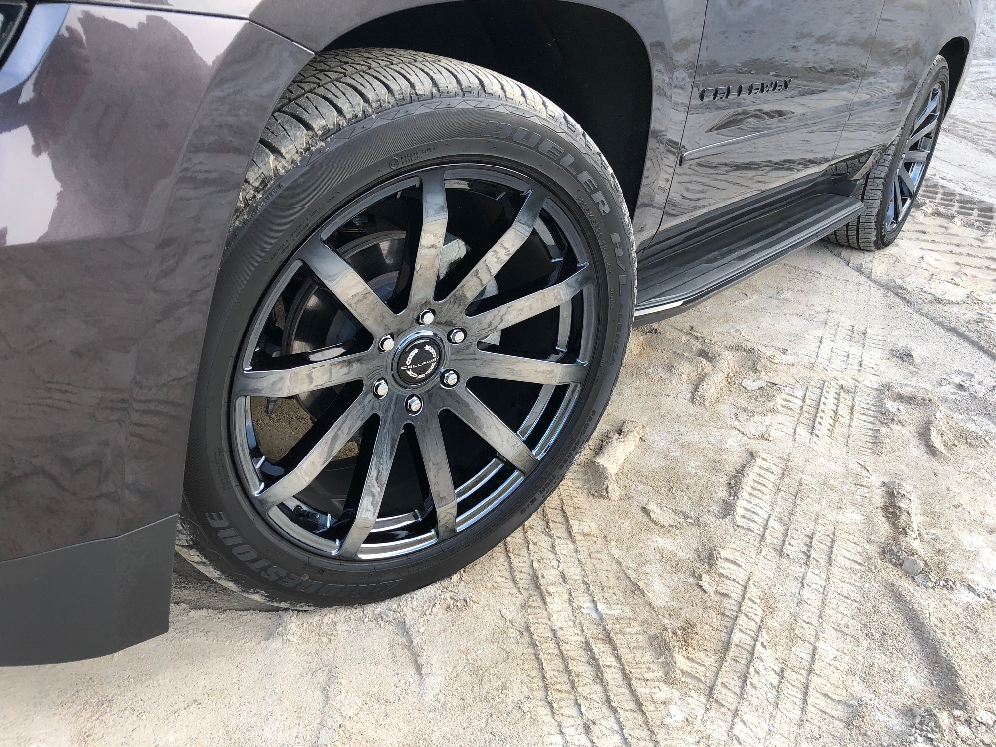 Callaway Ten Spoke Alloy Wheels