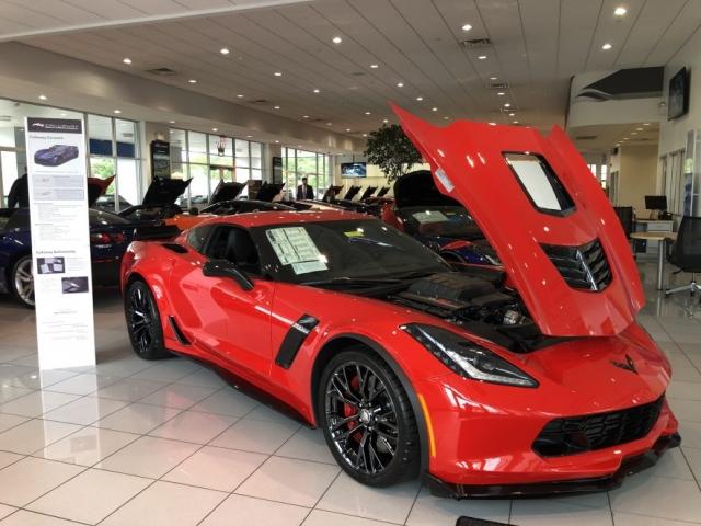 2019 Callaway Corvette SC757 - front view