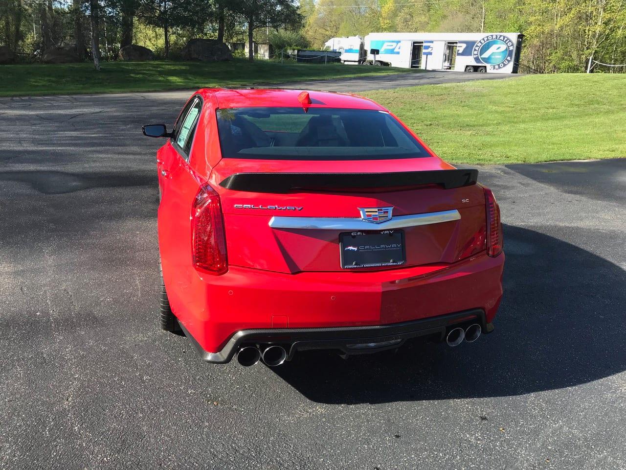 2019 Callaway CTS-V SC740 - rear view