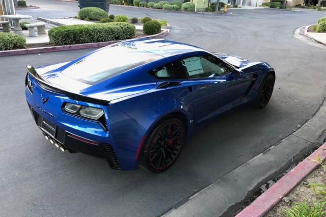 2019 Callaway Corvette Z06 SC757 - side view