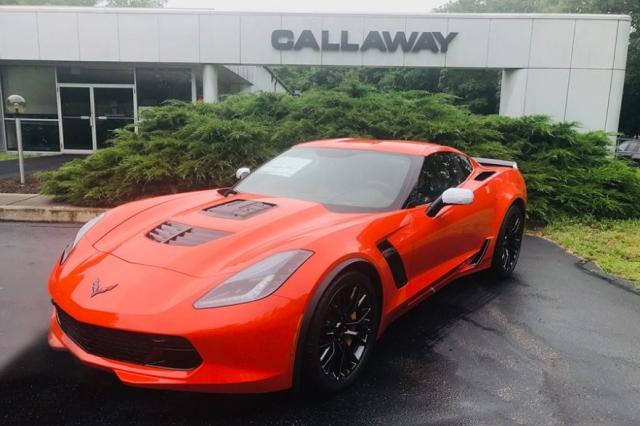 2019 Callaway Corvette Z06 SC757 - front view