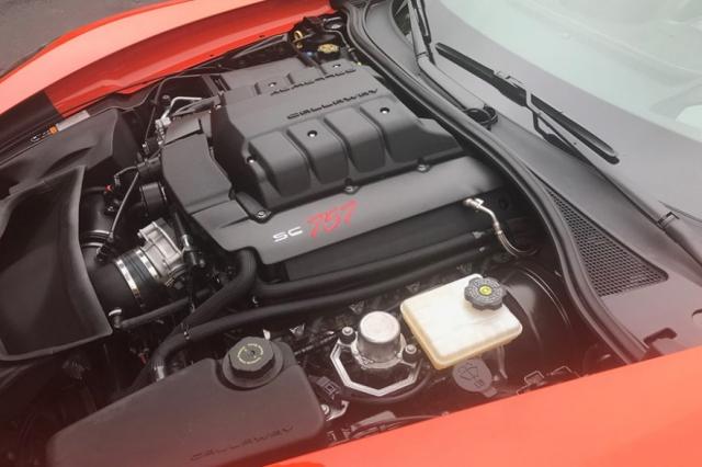 2019 Callaway Corvette Z06 SC757 - underhood