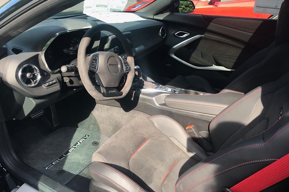 2019 Callaway Camaro ZL1 SC750 - interior