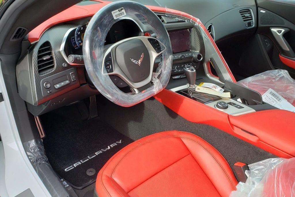 2019 Callaway Corvette Z06 SC757 - interior