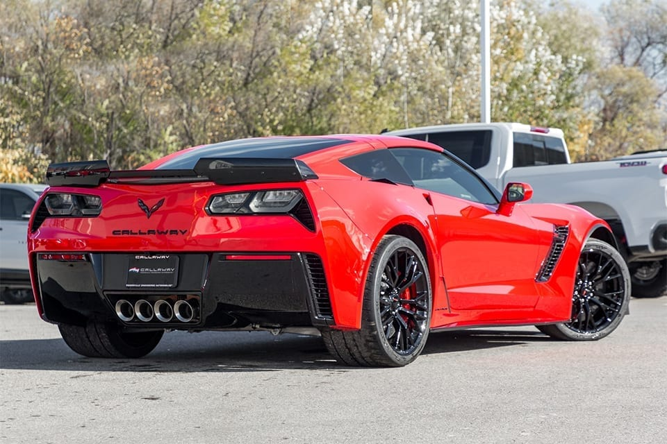 2019 Callaway Corvette Z06 SC757 - rear view