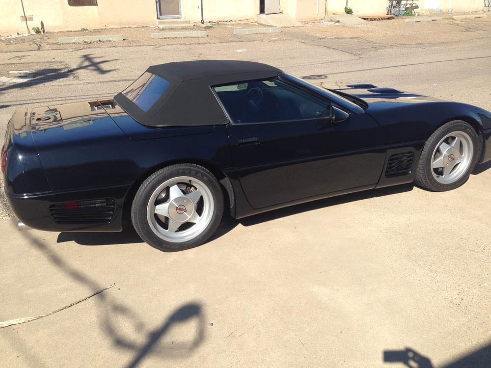 1991 Callaway Twin Turbo Corvette Convertible