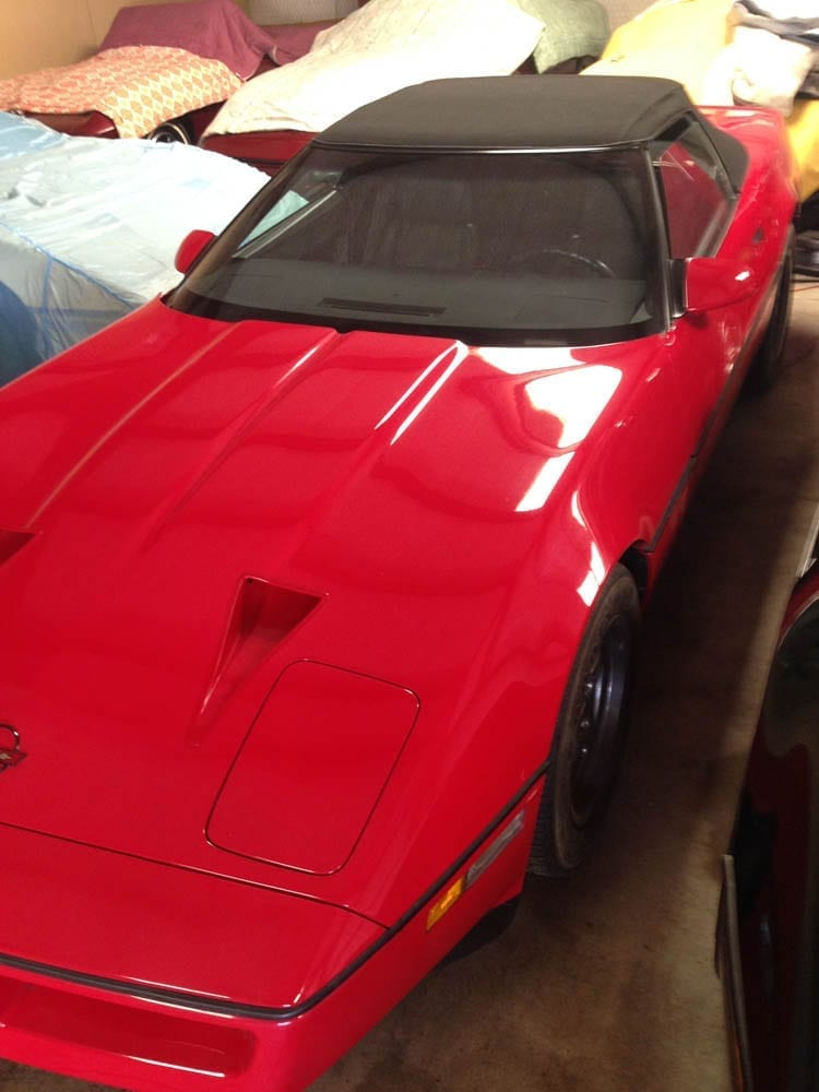 1987 Callaway Twin Turbo Corvette Convertible